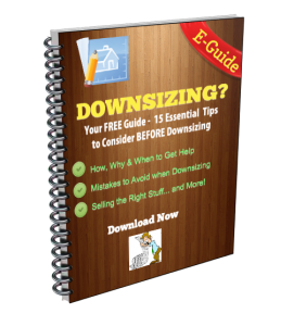 TIPS TO DOWNSIZING YOUR HOME